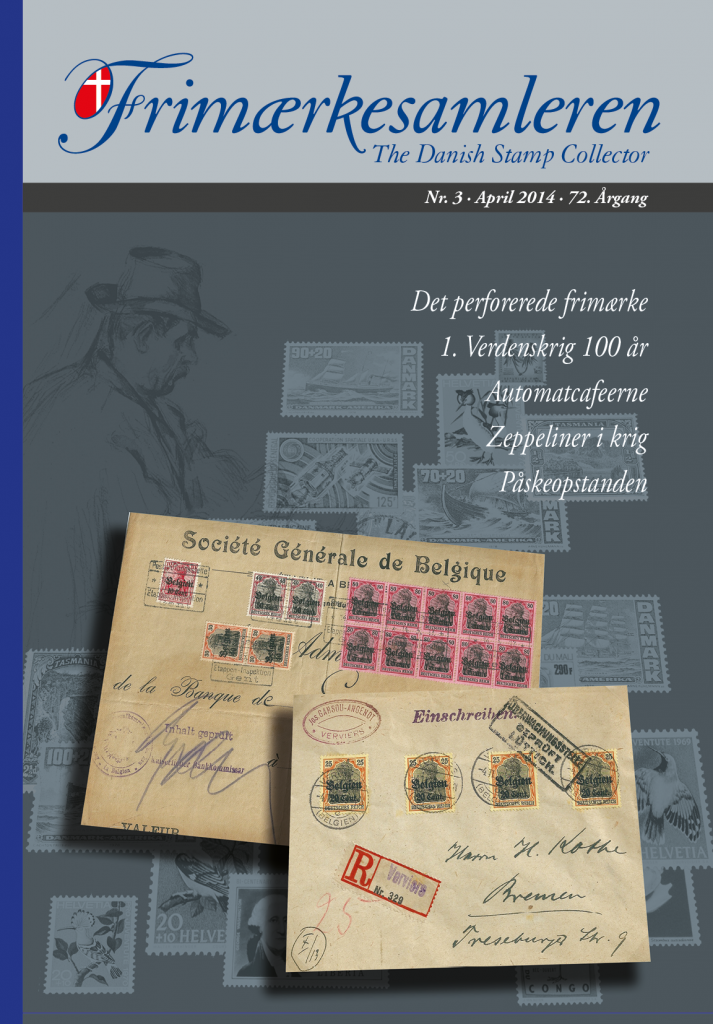 Frimærkesamleren 2014 Nr 3 - Forside