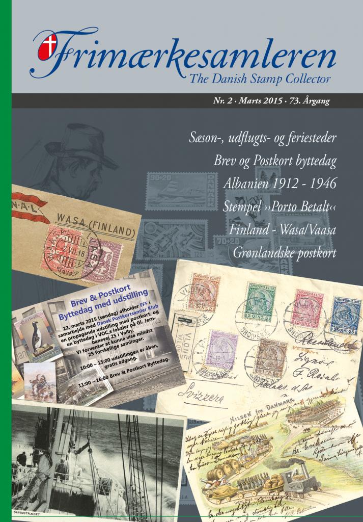 Frimærkesamleren 2015 Nr 2_v8 - Forside